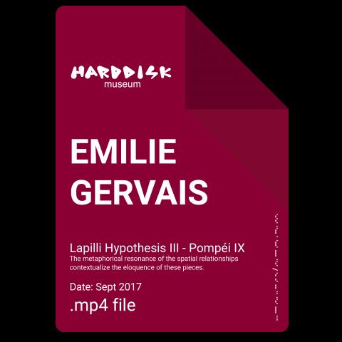 EMILIE GERVAIS