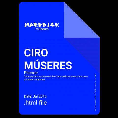 CIRO MÚSERES