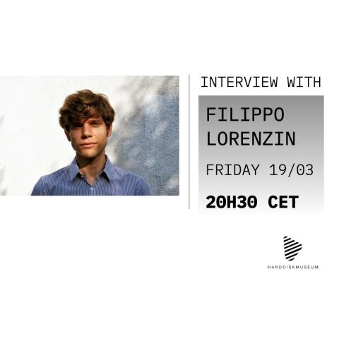 FILIPPO LORENZIN CONVERSATION